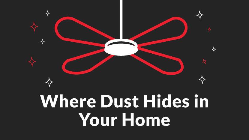 hidden dust in home
