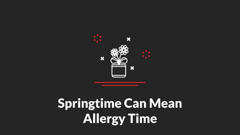 Springtime Can Mean Allergy Time